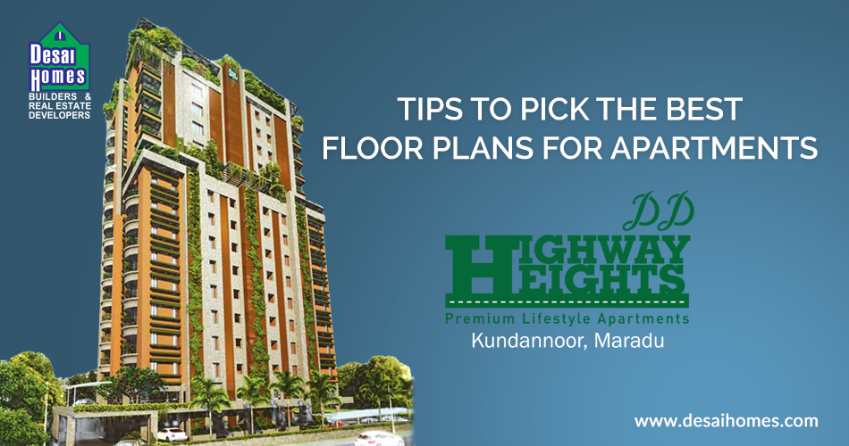 THINGS TO CONSIDER ON APARTMENT FLOOR PLANS