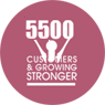 4500 customers and growing Stronger