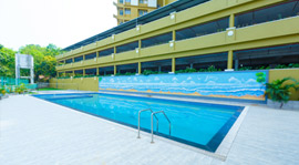 apartments in Trivandrum city amenities amen swimming pool