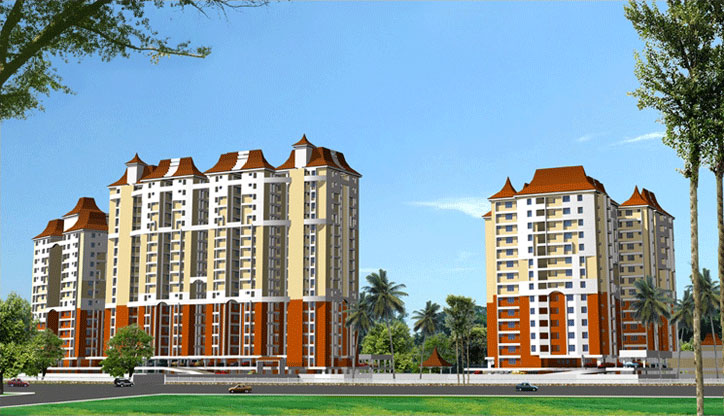 apartments in Trivandrum city