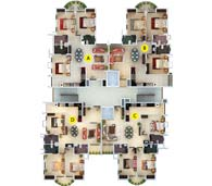 apartments in Kochi city floor plan typical 01