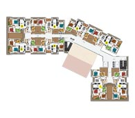 apartments in Kochi city typical floor plan